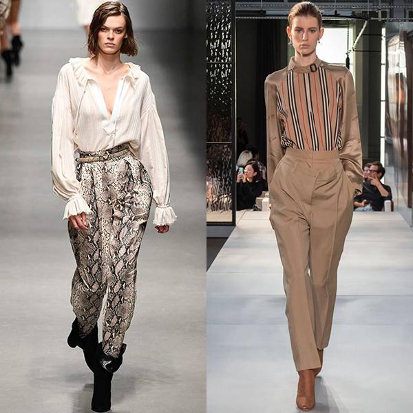 мода 2019 женские брюки