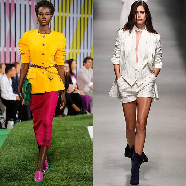 Модные тенженции в женской одежде. Весна лето 2019