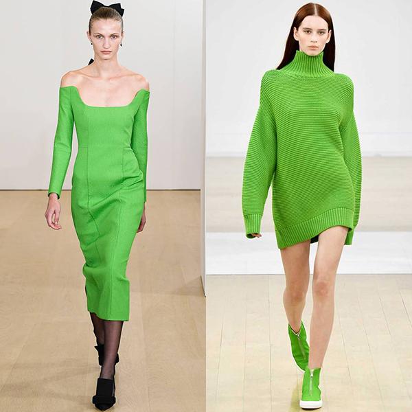 Модные цвета в одежде 2019