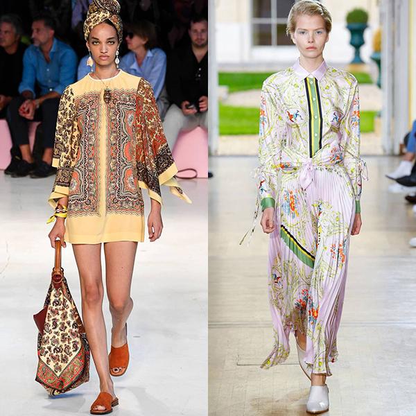 Модные тенденции в одежде весна лето 2019 фото