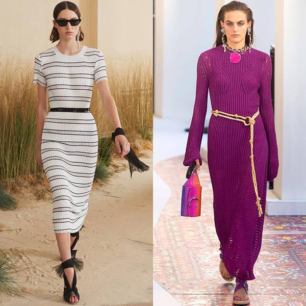 какие платья в моде весна лето 2019