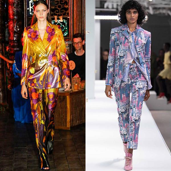 модная женская деловая одежда весна лето 2019