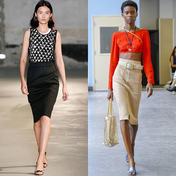 какие юбки в моде весна лето 2019