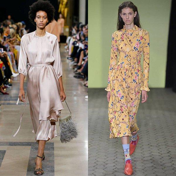 какие платья в моде весна лето 2019 год