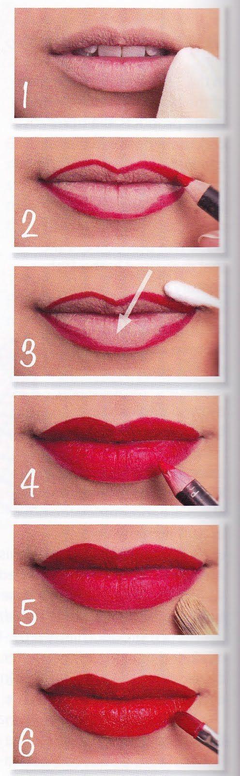 красим губы 01