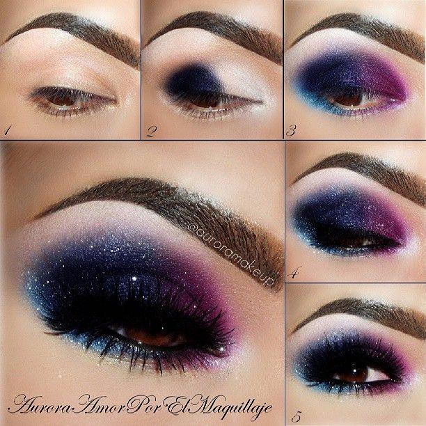 макияж глаз 01