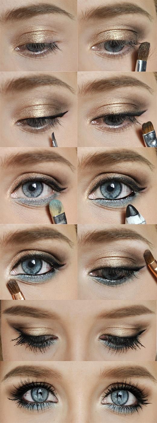 макияж глаз 03
