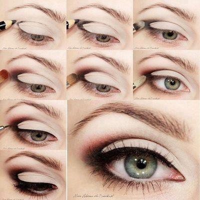 10 видов макияжа глаз.
