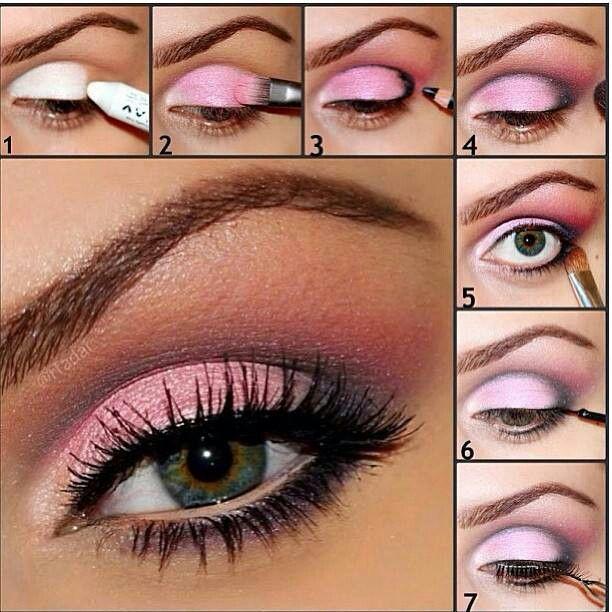 макияж глаз 09
