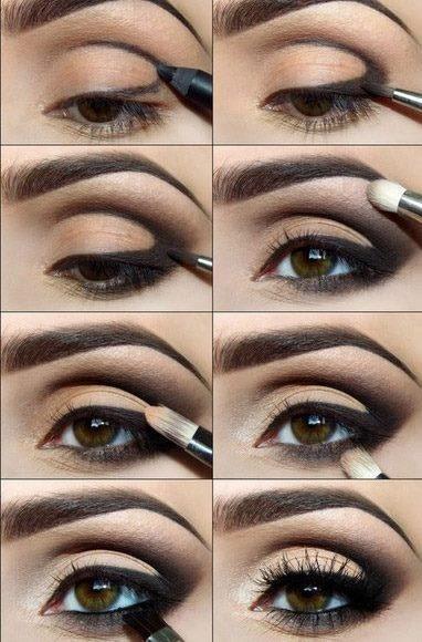 макияж глаз 10