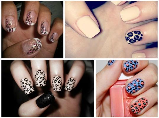 леопардовые пятна на ногтях 02