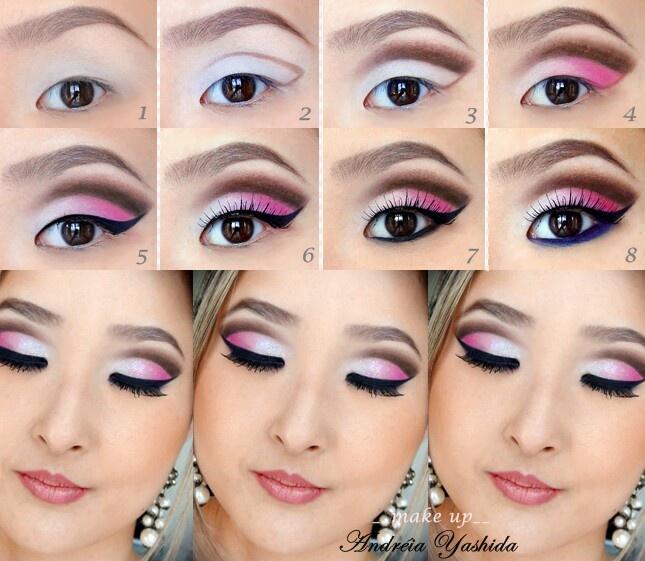 макияж для азиатских глаз 02
