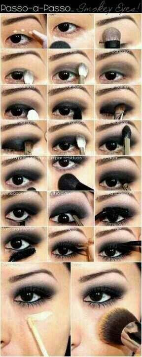 макияж для азиатских глаз 04