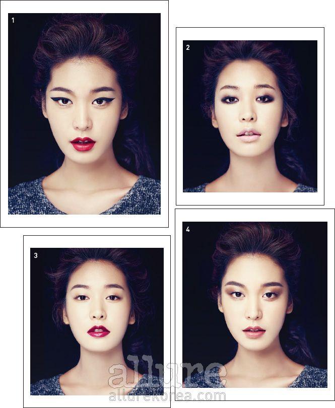 Азиатский макияж как сделать разрез глаз