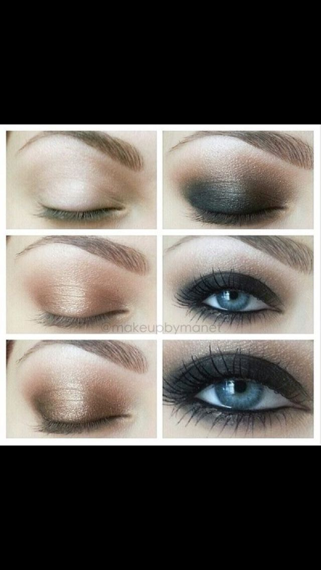 Smokie eye makeup