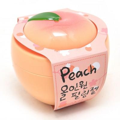 Персиковая пилинг-скатка Peach all-in-one peeling gel 01