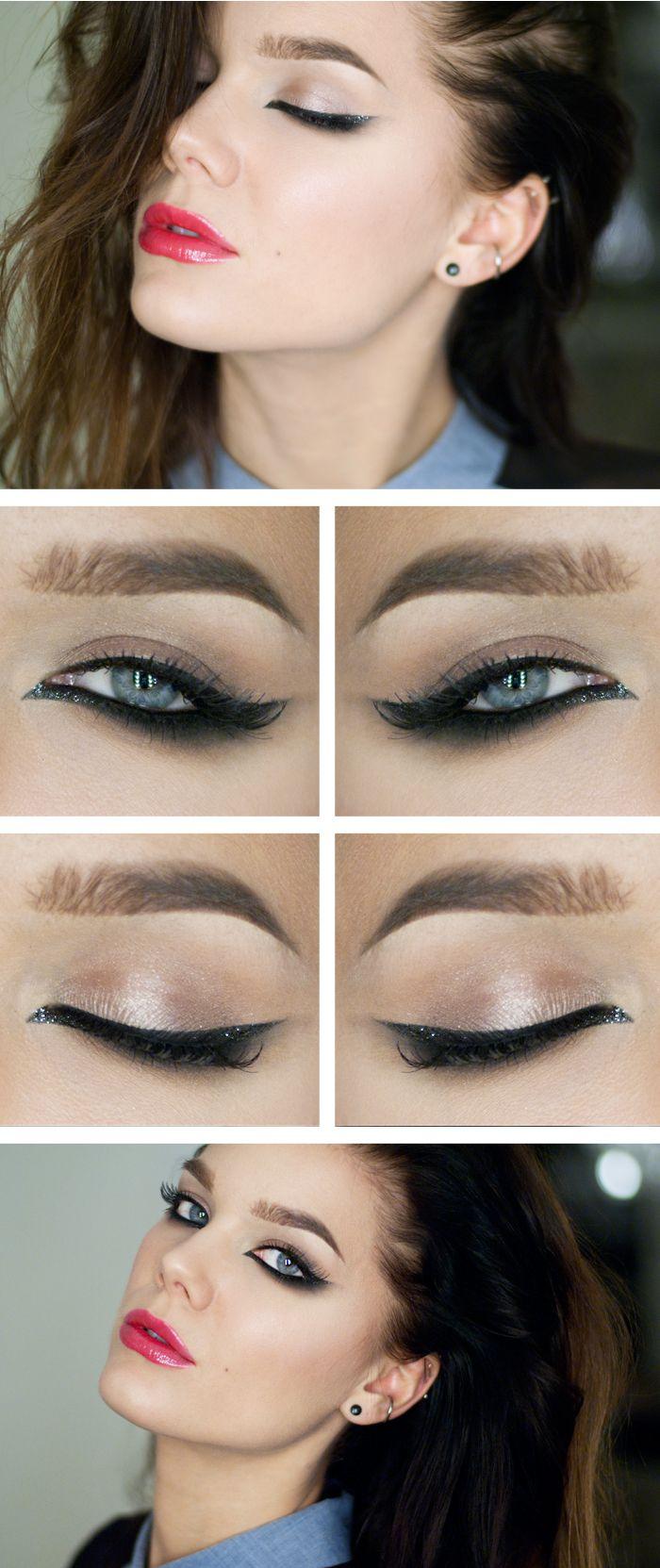 макияж для брюнеток 04
