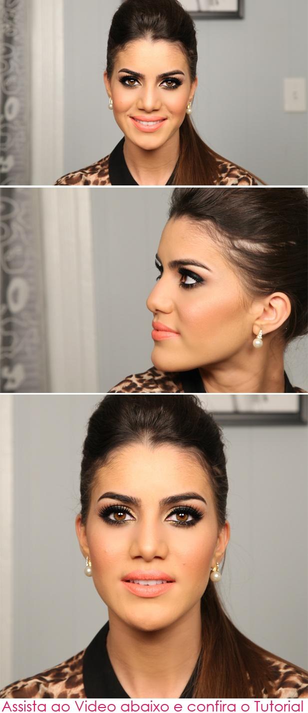 макияж для брюнеток 05