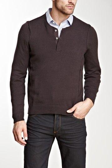 свитер с рубашкой 02