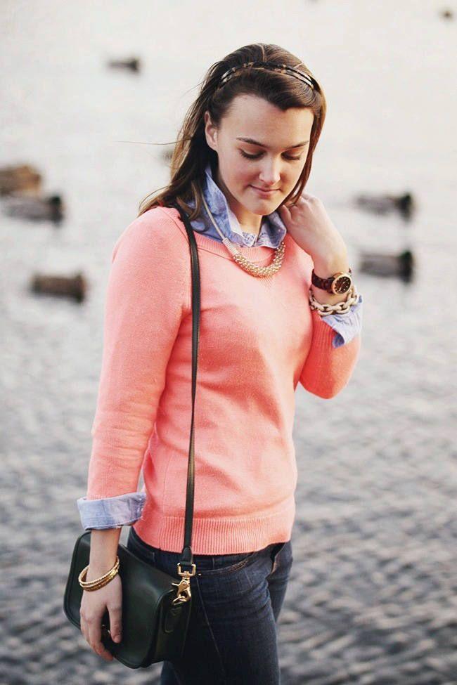 свитер с рубашкой 04