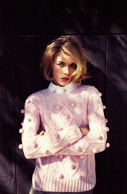 свитер с рубашкой 09