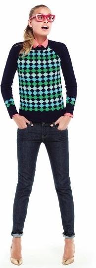 свитер с рубашкой 25