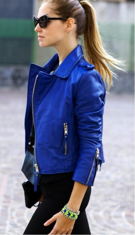 с чем носить кожаную куртку 06