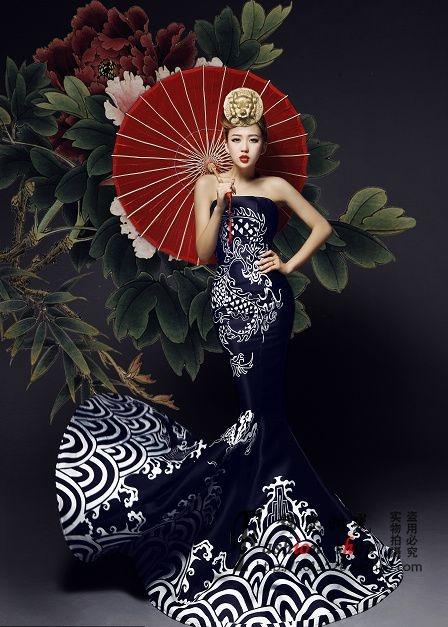 азиатский стиль в одежде 03