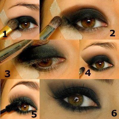 макияж для карих глаз фото 02
