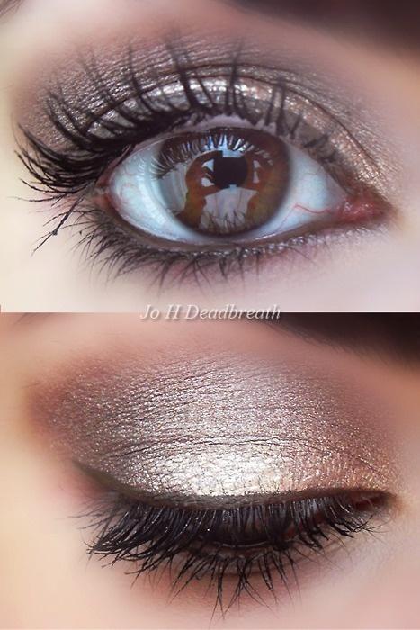 макияж для карих  глаз фото 03