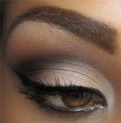макияж для карих  глаз фото 04