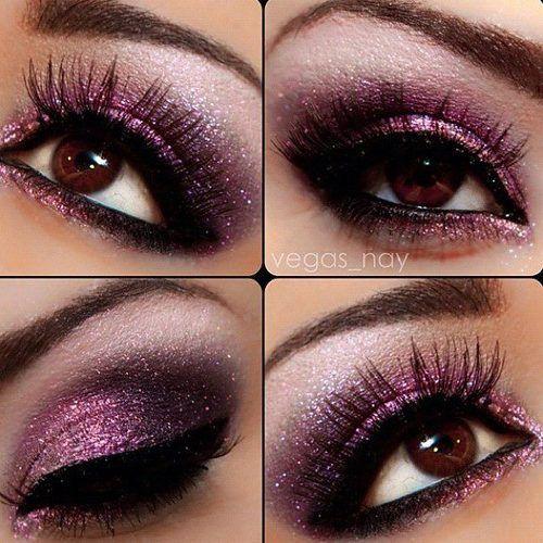 макияж для карих  глаз фото 05