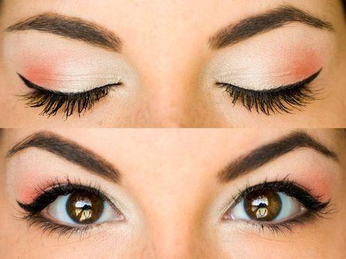 Как карие глаза сделать красивыми 145