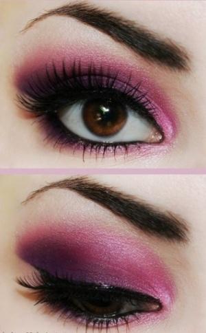 Как сделать дымчатый макияж фото 506