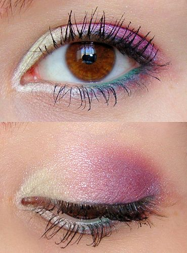 макияж для карих  глаз фото 14