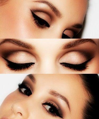 макияж для карих глаз фото 15