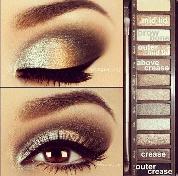 макияж для карих  глаз фото 16