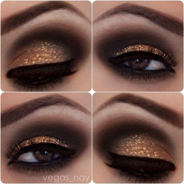 макияж для карих  глаз фото 17