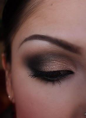 макияж для карих  глаз фото 29