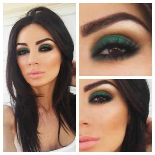 макияж для карих глаз фото 38