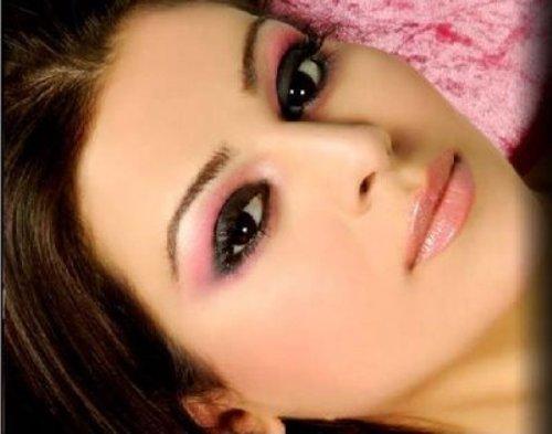 макияж для карих  глаз фото 39