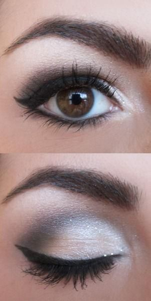 макияж для карих глаз фото 7