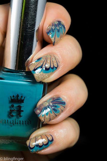 рисунок бабочка на ногтях  butterfly nail designs 15
