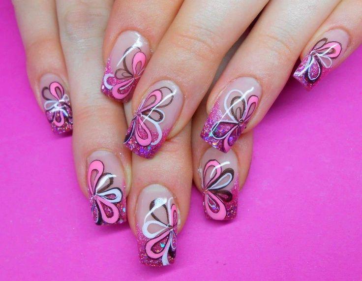 Дизайн ногтей.бабочка