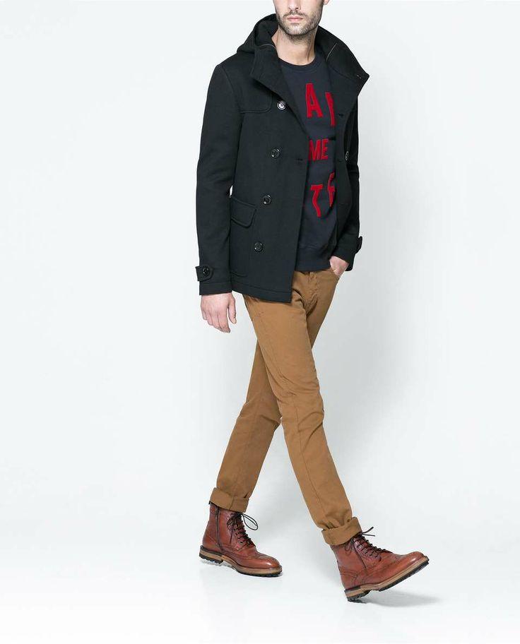 с чем носить мужское пальто 02