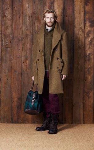 с чем носить мужское пальто 04