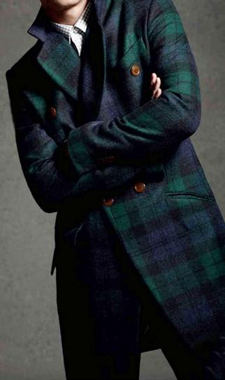 с чем носить мужское пальто 08