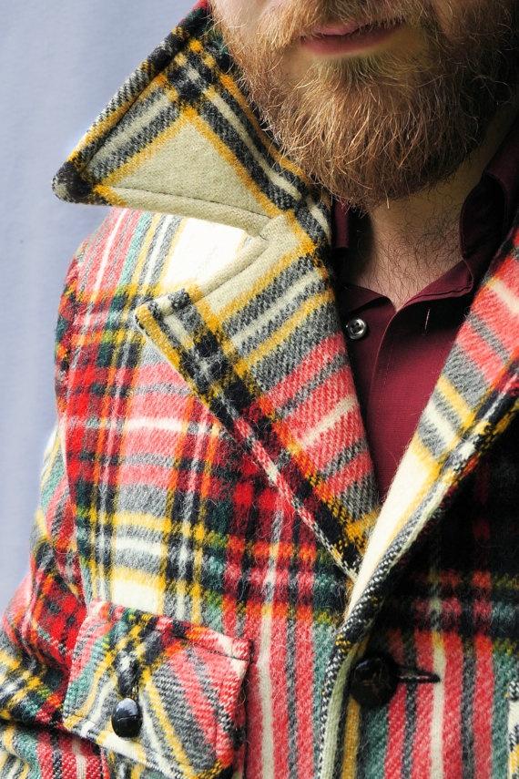 с чем носить мужское пальто 09