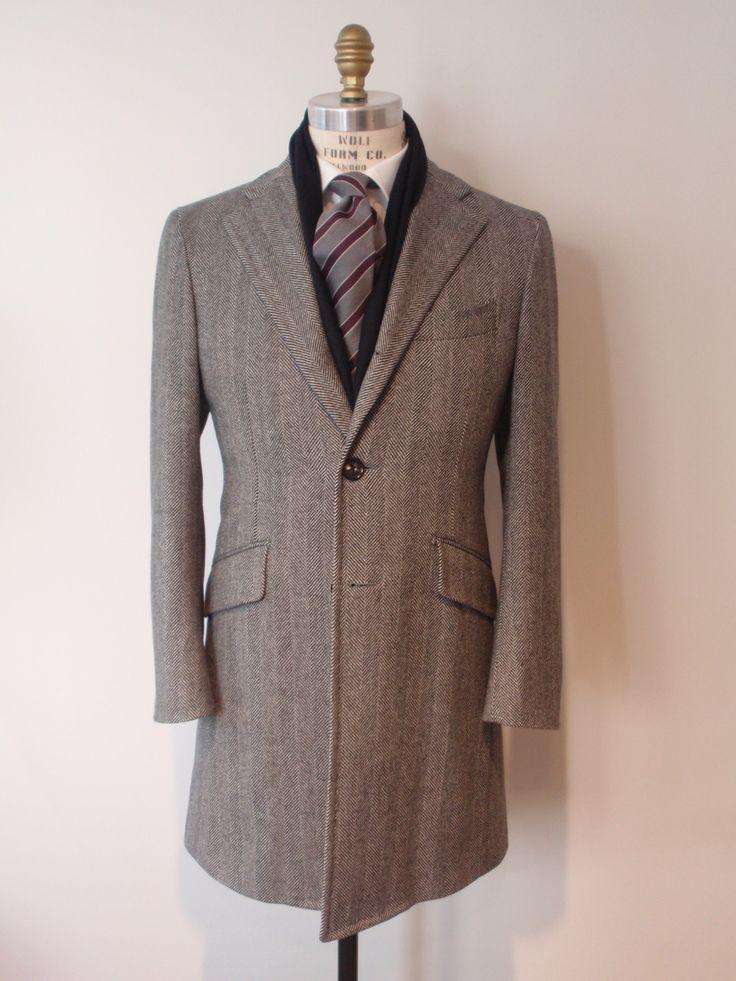 с чем носить мужское пальто 13