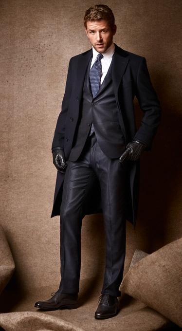 с чем носить мужское пальто 14